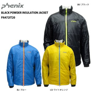 14-15 PHENIX(フェニックス)【最終処分/ミドル】 BLACK POWDER INSULATION JACKET PA472IT20|linkfast