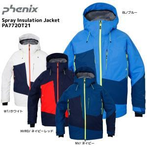 17-18 PHENIX(フェニックス)【ウェア/予約商品】 Spray Insulation Jacket (スプレーインシュレーション ジャケット) PA772OT21|linkfast