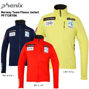 17-18 PHENIX(フェニックス)【ミドル/数量限定】 Norway Team Fleece Jacket (ノルウェーチーム フリースジャケット) PF772KT06|linkfast