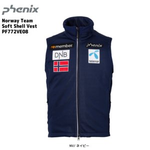 17-18 PHENIX(フェニックス)【ミドル/数量限定】 Norway Team Soft Shell Vest (ノルウェーチーム ソフトシェルベスト) PF772VE08|linkfast