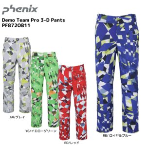 18-19 PHENIX(フェニックス)【在庫処分/パンツ】 Demo Team Pro 3-D Pants(デモチームプロ3Dパンツ)PF872OB11【スキーパンツ】|linkfast