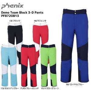 18-19 PHENIX(フェニックス)【在庫処分/パンツ】 Demo Team Block 3-D Pants(デモチームブロック3Dパンツ)PF872OB13【スキーパンツ】|linkfast