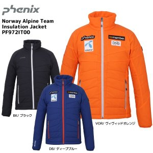 19-20 PHENIX(フェニックス)【ミドル/数量限定】 Norway Alpine Team Insulation Jacket(インシュレーションジャケット)PF972IT00【ミドルジャケット】|linkfast