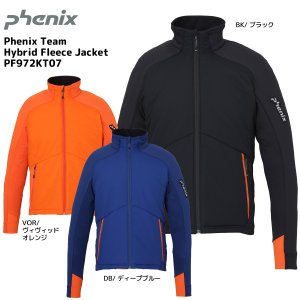 19-20 PHENIX(フェニックス)【ミドル/数量限定】 Phenix Team Hybrid Fleece Jacket(ハイブリッドフリースジャケット)PF972KT07【ミドルジャケット】|linkfast