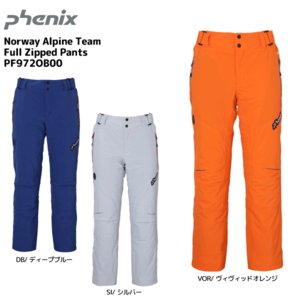 19-20 PHENIX(フェニックス)【パンツ/数量限定】 Norway Alpine Team Full Zipped Pants(ノルウェーALTフルジップパンツ)PF972OB00【スキーパンツ】|linkfast