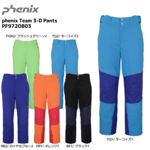 19-20 PHENIX(フェニックス)【パンツ/数量限定】 Phenix Team 3-D Pants(フェニックスチーム3-Dパンツ)PF972OB03【スキーパンツ】|linkfast