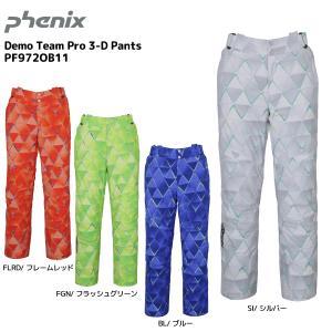 19-20 PHENIX(フェニックス)【早期予約/パンツ】 Demo Team Pro 3-D Pants(デモチームプロ 3Dパンツ)PF972OB11【スキーパンツ】|linkfast