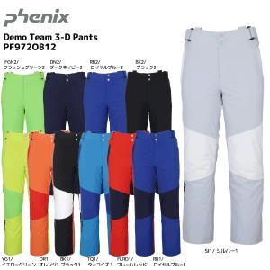 19-20 PHENIX(フェニックス)【パンツ/数量限定】 Demo Team 3-D Pants(デモチーム 3Dパンツ)PF972OB12【スキーパンツ】|linkfast
