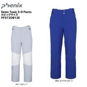 19-20 PHENIX(フェニックス)【早期予約/パンツ】 Demo Team 3-D Pants(ビッグサイズ)PF972OB12E【スキーパンツ】|linkfast