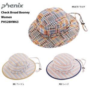 PHENIX(フェニックス)【最終処分品/ヘッドウェア】 Check Broad Booney Women (チェックブロードブーニー ウィメンズ) PH528HW63|linkfast