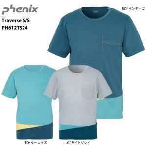 PHENIX(フェニックス)【最終処分品/半袖Tシャツ】 Traverse S/S (トラバース ショートスリーブ) PH612TS24|linkfast