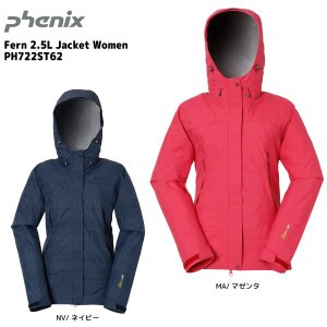 PHENIX(フェニックス)【在庫処分品/透湿防水素材】 Fern 2.5L Jacket Women (フェルン 2.5Lジャケット ウィメンズ) PH722ST62|linkfast