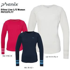 PHENIX(フェニックス)【在庫処分品/長袖Tシャツ】 Ethno Line L/S Women (エスノライン ロングスリーブ ウィメンズ) PH722TL77 linkfast