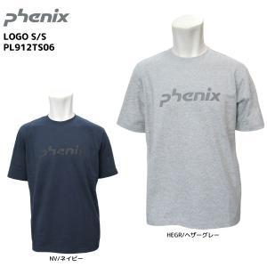 PHENIX(フェニックス)【2019/限定/半袖Tシャツ】 LOGO S/S(ロゴ ショートスリーブ)PL912TS06【アウトドアTシャツ】|linkfast