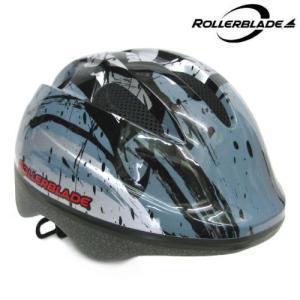 ROLLERBLADE(ローラーブレード)【最終在庫処分】 ZAP KID HELMET (ザップキッドヘルメット) -シルバー/ブラック-|linkfast