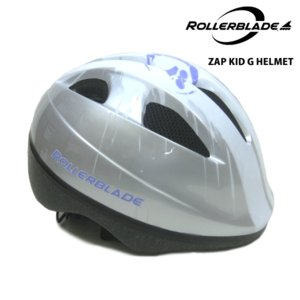 ROLLERBLADE(ローラーブレード)【最終在庫処分】 ZAP KID G HELMET (ザップキッド G ヘルメット) -シルバー/ライラック-|linkfast