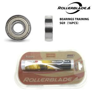 ROLLERBLADE(ローラーブレード)【スケート部品】 BEARINGS TRAINING SG9 16PCS (ベアリング トレーニングSG9 16個入)|linkfast