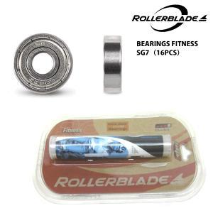 ROLLERBLADE(ローラーブレード)【スケート部品】 BEARINGS FITNESS SG7 16PCS (ベアリング フィットネスSG7 16個入)|linkfast