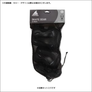 ROLLERBLADE(ローラーブレード)【パットセット】 SKATE GEAR 3 PACK(スケートギア 3パック)069P0100【保護パット3点セット】|linkfast|02