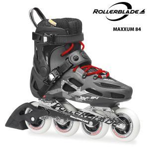 ROLLERBLADE(ローラーブレード)【最終在庫処分】 MAXXUM 84 (マクサム84) -ブラック/アンスラ-|linkfast