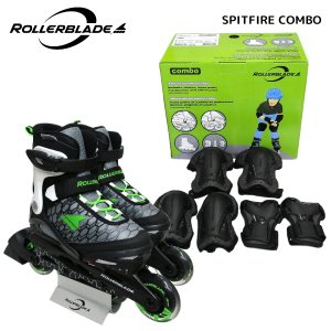 ROLLERBLADE(ローラーブレード)【数量限定商品】 COMBO(コンボ)【インラインスケートパッド付/ジュニア】|linkfast