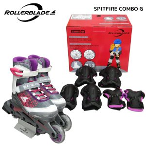 ROLLERBLADE(ローラーブレード)【数量限定商品】 COMBO G(コンボ ガール)【インラインスケートバッド付/ジュニア】|linkfast