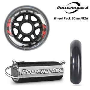 ROLLERBLADE(ローラーブレード)【数量限定商品】 WHEELS PACK 80/82A 8PCS (ウィールパック 80mm/82a 8個入)|linkfast