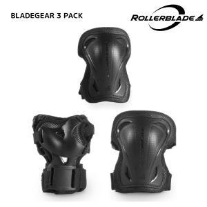 ROLLERBLADE(ローラーブレード)【パットセット】 BLADEGEAR 3 PACK(ブレードギア 3パック)06310200|linkfast