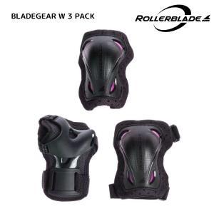 ROLLERBLADE(ローラーブレード)【在庫処分商品】 BLADEGEAR W 3 PACK(ブレードギア ウィメンズ3パック)【保護パッド3点セット】|linkfast