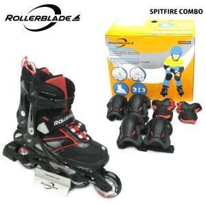 ROLLERBLADE(ローラーブレード)【数量限定商品】 SPITFIRE COMBO (スピットファイヤー コンボ) ジュニアスケート|linkfast