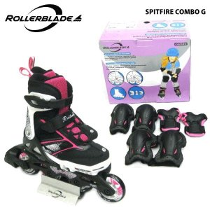 ROLLERBLADE(ローラーブレード)【数量限定商品】 SPITFIRE COMBO G (スピットファイヤー コンボ ガール) ジュニアスケート|linkfast