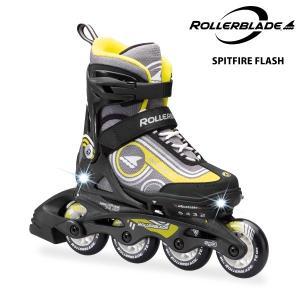 ROLLERBLADE(ローラーブレード)【数量限定商品】 SPITFIRE FLASH (スピットファイヤー フラッシュ) ジュニアスケート|linkfast