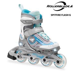 ROLLERBLADE(ローラーブレード)【数量限定商品】 SPITFIRE FLASH G (スピットファイヤー フラッシュ G) ジュニアスケート|linkfast