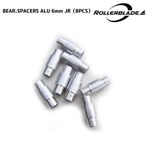 ROLLERBLADE(ローラーブレード)【数量限定部品】 BEARING SPACERS ALU 6mm JUNIOR (ベアリング スペーサー 6mmジュニア)|linkfast
