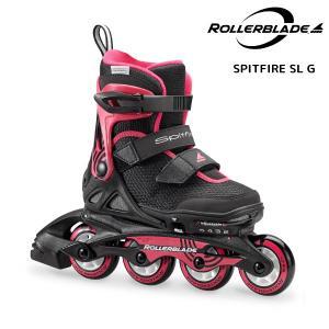 ROLLERBLADE(ローラーブレード)【数量限定商品】 SPITFIRE SL G(スピットファイヤー SL ガール)ジュニアスケート|linkfast