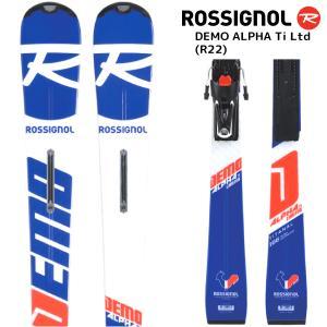 18-19 ROSSIGNOL(ロシニョール)【数量限定商品】 DEMO ALPHA Ti Ltd(R22)(デモアルファ Tiリミテッド 金具付)RAHLA03【スキー板/取付料無料】 linkfast