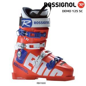 18-19 ROSSIGNOL(ロシニョール)【数量限定商品】  DEMO 125 SC(デモ125 ショートカフ)RBH1600【スキーブーツ】|linkfast