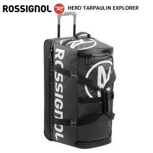 18-19 ROSSIGNOL(ロシニョール)【数量限定商品】 HERO TARPAULIN EXPLORER(ヒーロターポリン エクスプローラ)【ウィール付バッグ】|linkfast