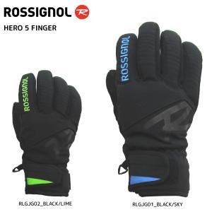 17-18 ROSSIGNOL(ロシニョール)【数量限定商品】 HERO 5 FINGER (ヒーロ5 フィンガー) RLGJG|linkfast