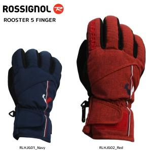 18-19 ROSSIGNOL(ロシニョール)【数量限定商品】 ROOSTER 5 FINGER (ルースタ5 フィンガー)RLHJG【スキーグローブ】|linkfast