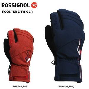 18-19 ROSSIGNOL(ロシニョール)【数量限定商品】 ROOSTER 3 FINGER (ルースタ 3フィンガー)RLHJG3【スキーグローブ】|linkfast