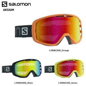 16-17 SALOMON(サロモン)【在庫処分/ゴーグル】 AKSIUM(アクシウム) 平面レンズ|linkfast