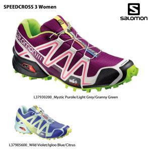 SALOMON(サロモン)【最終処分/トレランシューズ】 SPEEDCROSS 3 Women(スピードクロス 3 ウィメンズ) 2016SS