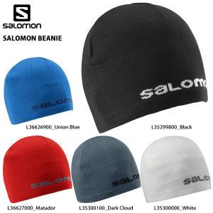14-15 SALOMON(サロモン)【最終処分/ニット帽】 SALOMON BEANIE (サロモンビーニー)【スノーニット帽】|linkfast