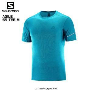 SALOMON(サロモン)【2019/トレイルランシャツ】AGILE SS TEE M(アジャイルショートスリーブティー メンズ)【ランニングTシャツ】|linkfast