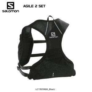 SALOMON(サロモン)【2019/トレイルランパック】 AGILE 2 SET(アジャイル2 セット)【ランニングバックパック】|linkfast