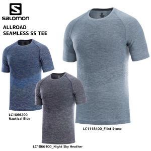 SALOMON(サロモン)【2019/アウトドアTシャツ】 ALLROAD SEAMLESS SS TEE M(オールロードシームレスSSティー メンズ)【アウトドアシャツ】|linkfast