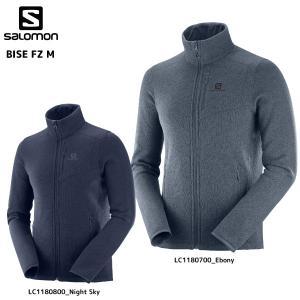 SALOMON(サロモン)【2019/フリースジャケット】BISE FZ M(バイス フルジッパージャケット メンズ)【ミドルジャケット】 linkfast
