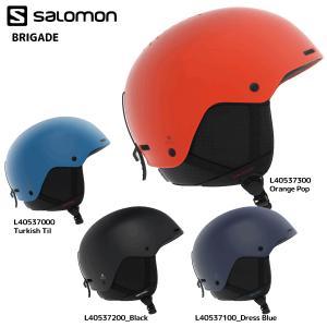 18-19 SALOMON(サロモン)【Helmet/数量限定】 BRIGADE (ブリゲード)【スノーヘルメット】|linkfast