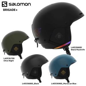 18-19 SALOMON(サロモン)【Helmet/数量限定】 BRIGADE+(ブリゲードプラス)【スノーヘルメット】|linkfast